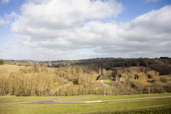 View of the High Weald Countryside Royalty Free Stock Photo