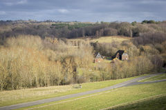 View of the High Weald Countryside Stock Photography
