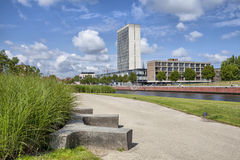 View on the highest building in Kortrijk Stock Photography