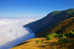 View from the highest mountain in Thailand in Doi Inthanon national park Stock Photo