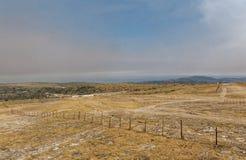Serra da Estrela. A view from the highest point of Serra da Estrela, Portugal Stock Photo