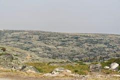 Serra da Estrela. A view from the highest point of Serra da Estrela, Portugal Royalty Free Stock Images