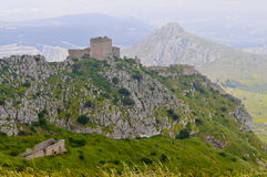 View from the hill of acrocorinth Stock Photos