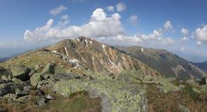 View from hill Chopok, Slovakia Stock Photos