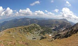 View from hill Chopok, Slovakia Royalty Free Stock Photo