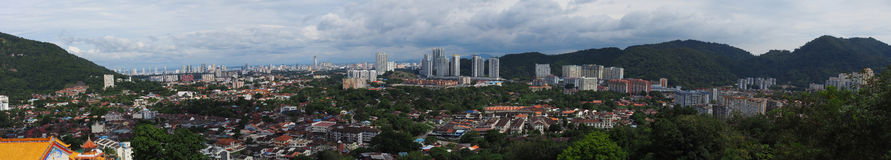 A View from a Hill (Georgetown panorama) Stock Image