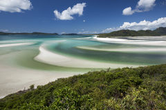 View from Hill Inlet Royalty Free Stock Images