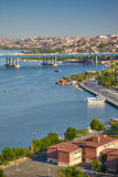 View from the Hill of Pierre Loti to the Golden Horn, Istanbul Royalty Free Stock Image