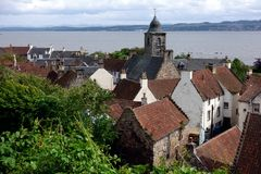 Culross, Scotland royalty free stock images
