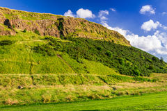 View of the hill in Scotland royalty free stock photos