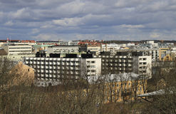 View from the hill of Turku Royalty Free Stock Photography