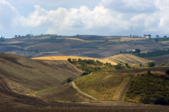 View of the hills of Gargano Puglia Royalty Free Stock Photography