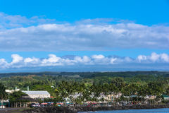 View of Hilo Bay in Big Island, Hawaii Stock Photography