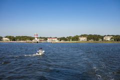 View of Hilton Head Island. View of Hilton Head from the water Royalty Free Stock Photos