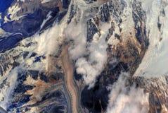 View of Himalayan mountains Royalty Free Stock Photos