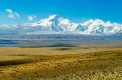 View of the Himalayan mountains Stock Image