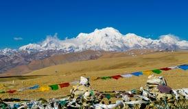 View of the Himalayan mountains. Stock Photos