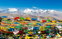 View of the Himalayan mountains. Stock Images