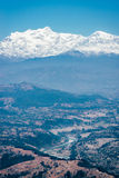 View on the Himalayas in Nepal Royalty Free Stock Image