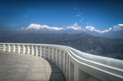 A view of the Himalayas Royalty Free Stock Images
