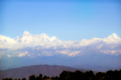 View of the Himalayas Royalty Free Stock Photography