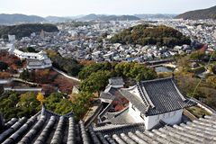 View from Himeji Castle, Stock Photography