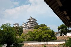 View of Himeji Castle, Japan Stock Photo