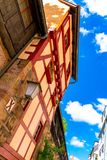 View on historic Architecture in Nuremberg, Germany. View on historic medieval Architecture in Nuremberg, Germany stock photo