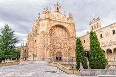 View of historic buildings in Salamanca, Spain Royalty Free Stock Images