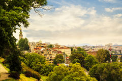 View of the historic center of Belgrade. Serbia on a sunny day Stock Photo