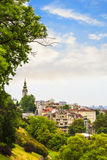 View of the historic center of Belgrade. Serbia on a sunny day Royalty Free Stock Images