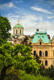 View of the historic center of Belgrade. Serbia on a sunny day Royalty Free Stock Photo