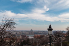 View of the historic center of Budapest Royalty Free Stock Images