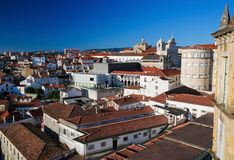 View on the historic center of Coimbra, Portugal Stock Photos