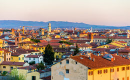 View of the historic center of Pisa Stock Image