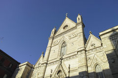 View of the historic church Royalty Free Stock Images