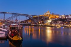View of the historic city of Porto, Portugal Stock Images
