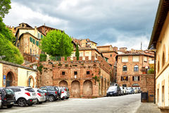 View of historic city Siena, Italy Royalty Free Stock Image