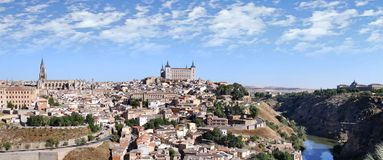 View of the historic city of Toledo Stock Photos