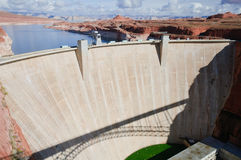 View of Historic Hoover Dam Stock Image