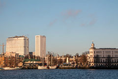 View on historic part of Rotterdam, the Netherlands Stock Photography