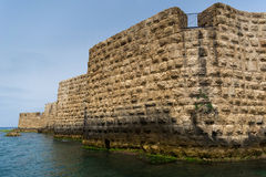 The view of historic sea walls Royalty Free Stock Photography