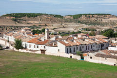 View of historic small town Chinchon near Madrid Royalty Free Stock Photos