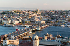 View of the historical center of Istanbul Stock Image