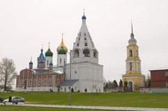 View of historical center of Kolomna city near Moscow Stock Photo