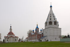 View of historical center of Kolomna city near Moscow Stock Photography