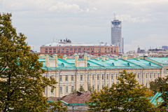 View of the historical center of Moscow Royalty Free Stock Photography