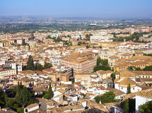 View of the historical center of Valencia Royalty Free Stock Photo