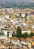 View of the historical center of Valencia Stock Images