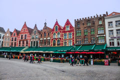 View of the historical centre of Bruges Stock Image